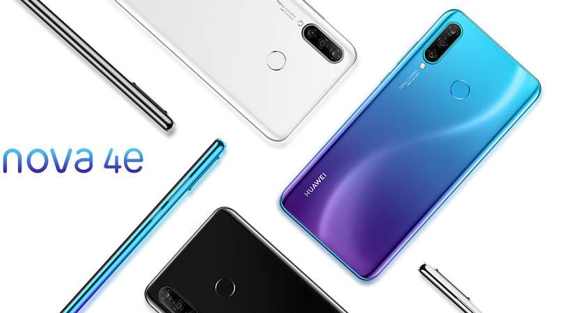 Huawei Nova 4e: технические характеристики нового смартфона и дата старта продаж