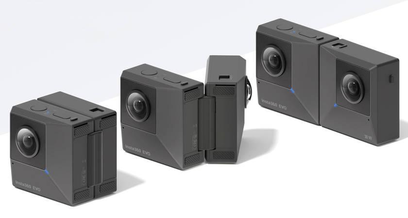 Insta360 EVO – раскладная камера с поддержкой VR-съёмки уже в продаже!