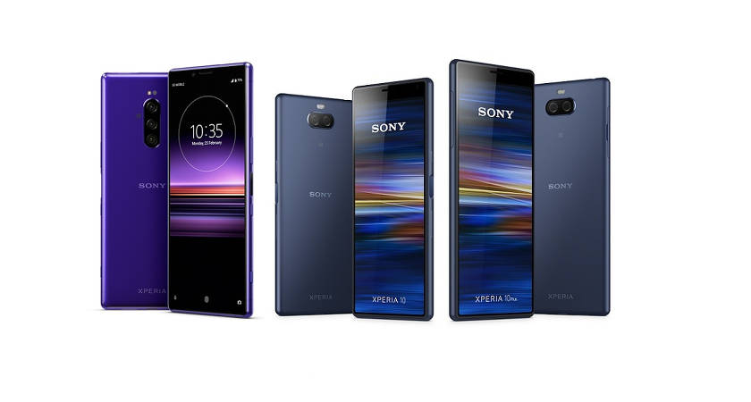 Новые смартфоны Sony Xperia: L3, 10 и 10 Plus