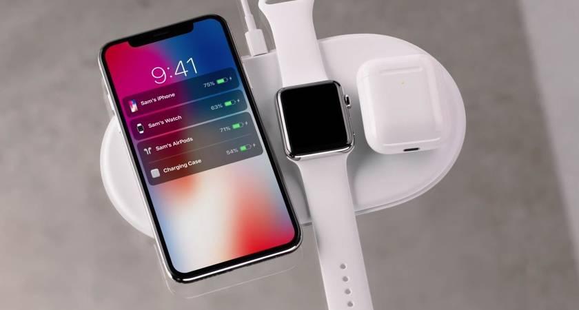 Новые iPhone получат обратную зарядку как Galaxy S10