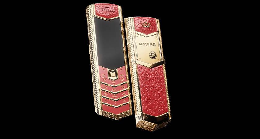 Компания Caviar выпустила линейку кнопочных телефонов в честь великих правителей