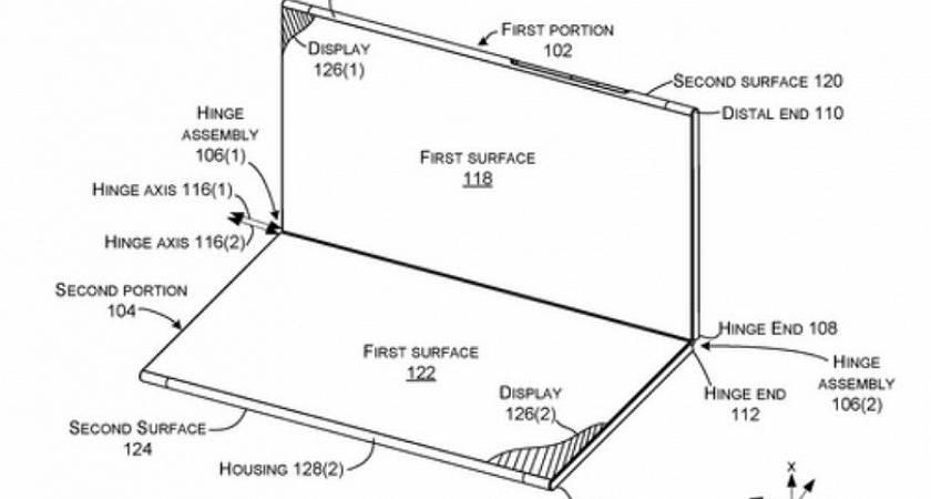 Microsoft вновь разрабатывает сгибающийся смартфон Surface Phone