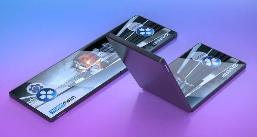 Появились рендеры игрового смартфона Sharp