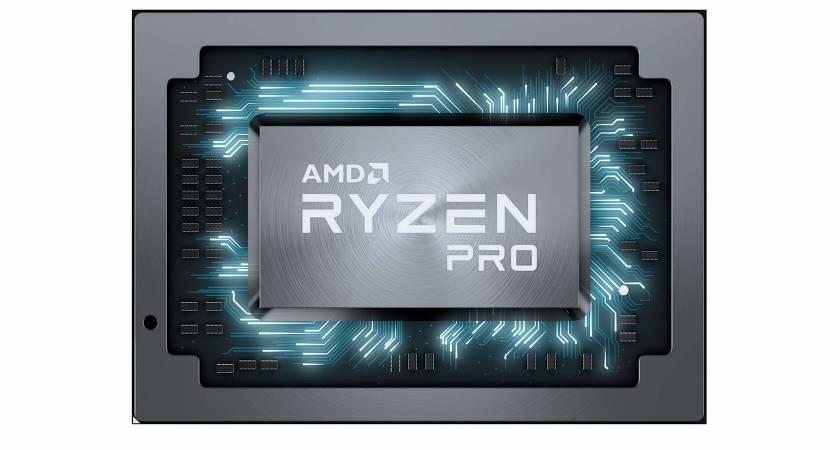 Компания AMD представила мобильные процессоры Ryzen PRO второго поколения