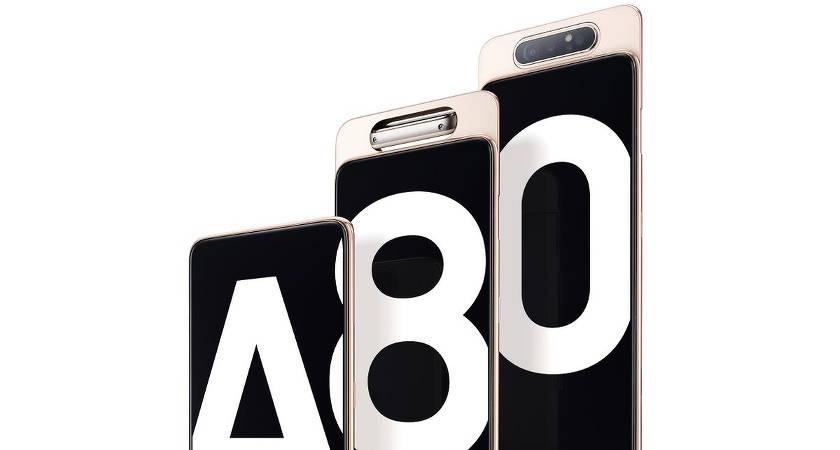 Смартфон Samsung Galaxy A80 представлен в Бангкоке