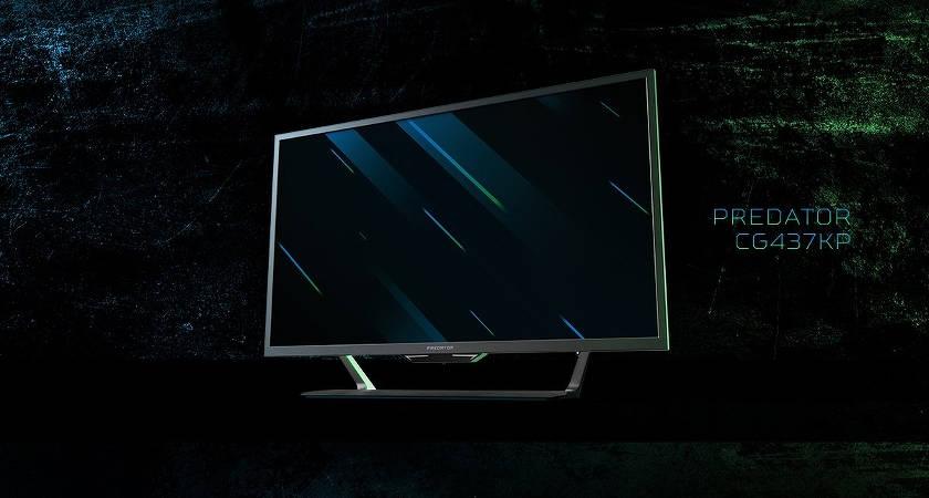 Представлен игровой 4К-монитор Acer Predator CG437KP
