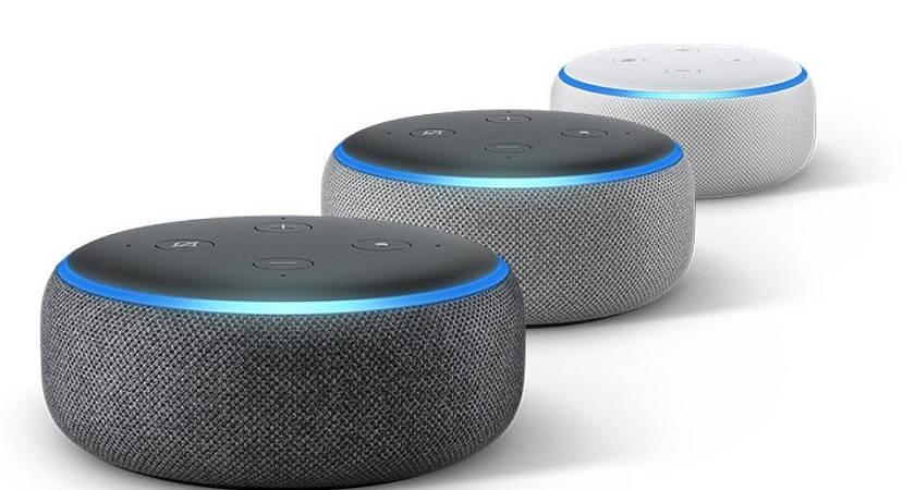 Компания Amazon продаёт 3 колонки Echo Dot за 70 долларов
