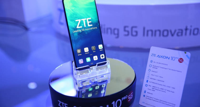 Известна дата продаж смартфона ZTE Axon 10 Pro 5G