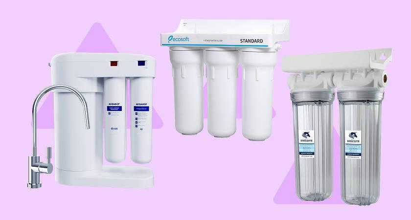 Лучшие фильтры для воды 2020 года