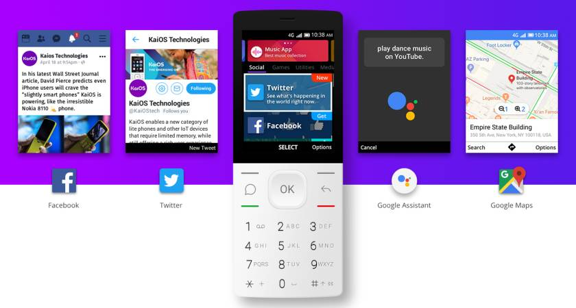 Компания Google выпустит новую операционную систему для кнопочных телефонов
