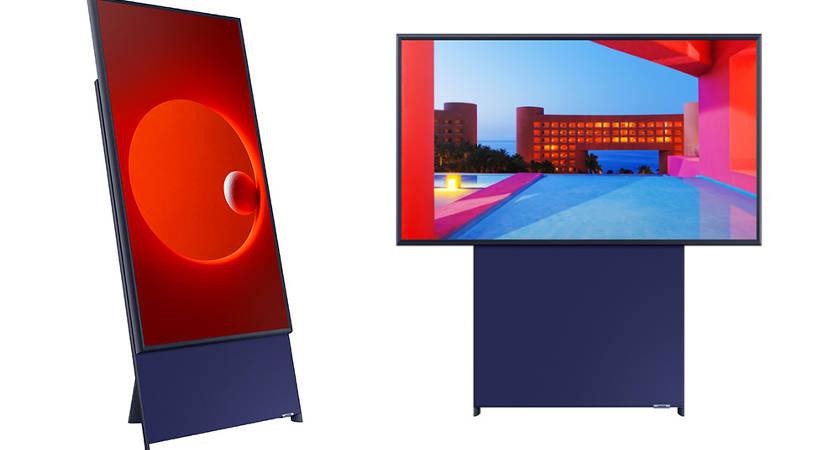 Компания Samsung представила новый телевизор Sero