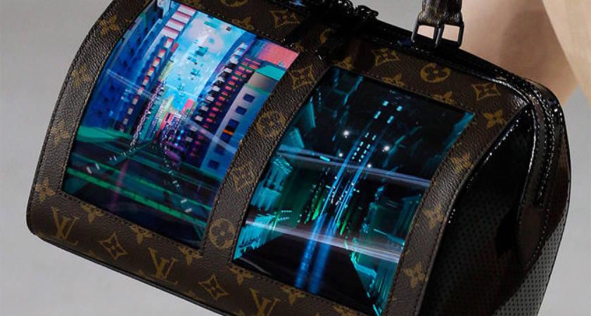 Компания Louis Vuitton представила коллекцию сумок с OLED-экранами